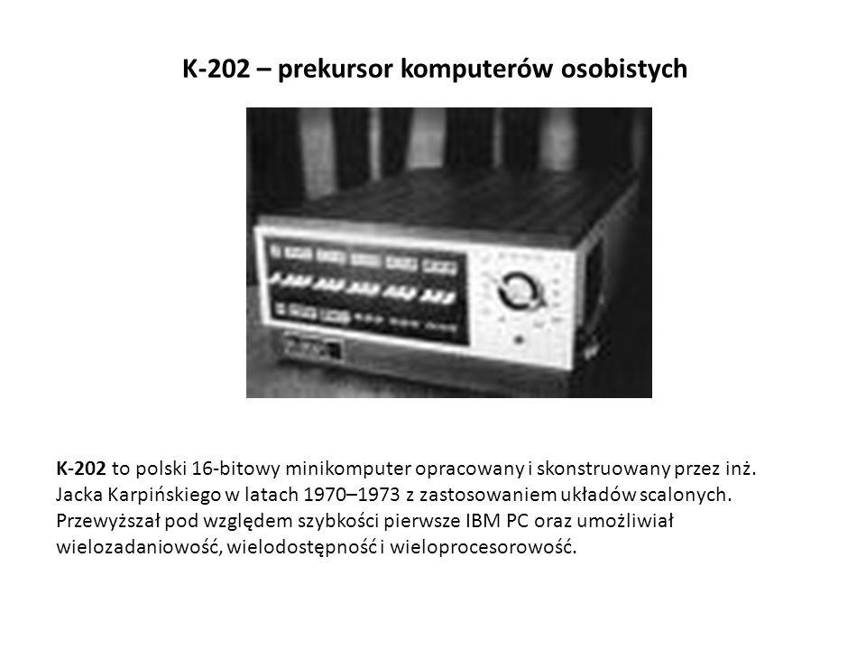 K-202 – prekursor komputerów osobistych