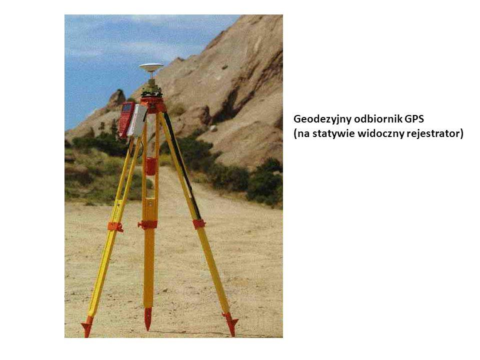 Geodezyjny odbiornik GPS