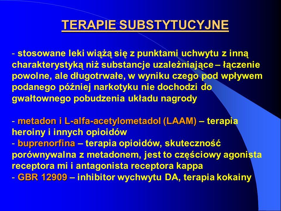 TERAPIE SUBSTYTUCYJNE