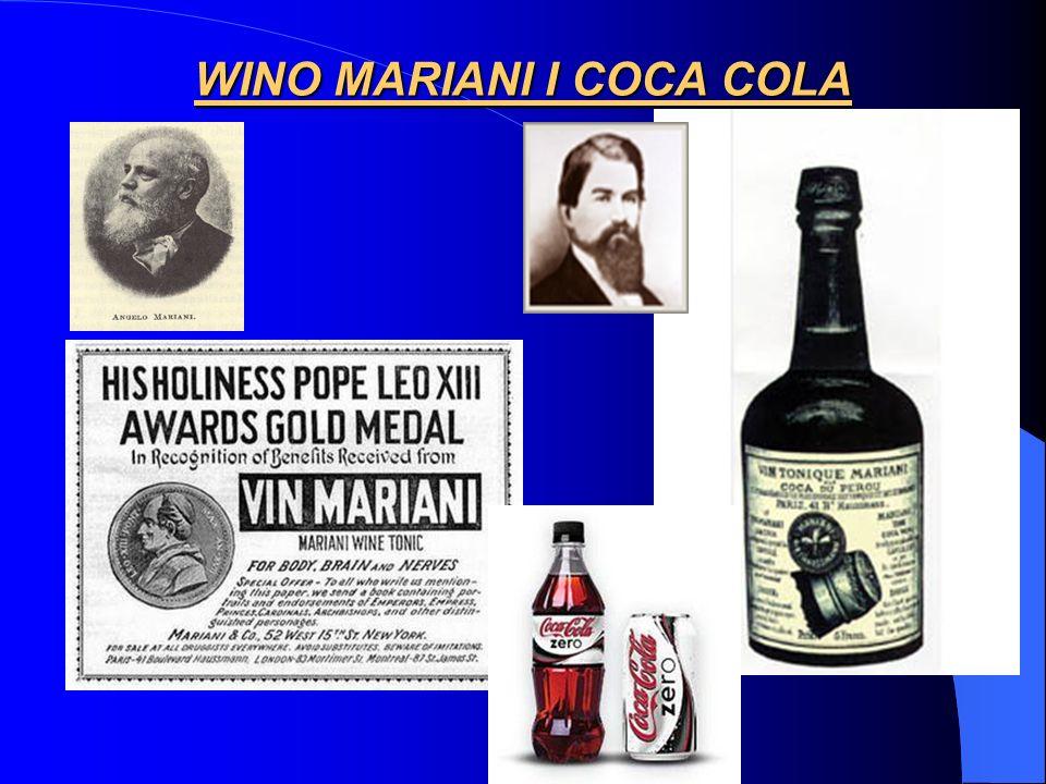 WINO MARIANI I COCA COLA