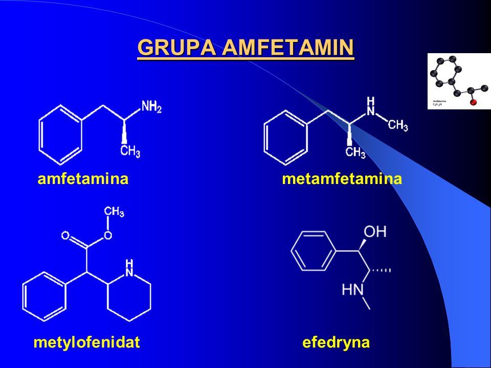 GRUPA AMFETAMIN amfetamina metamfetamina.