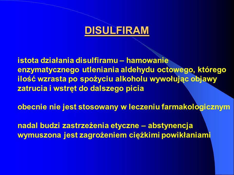 DISULFIRAM