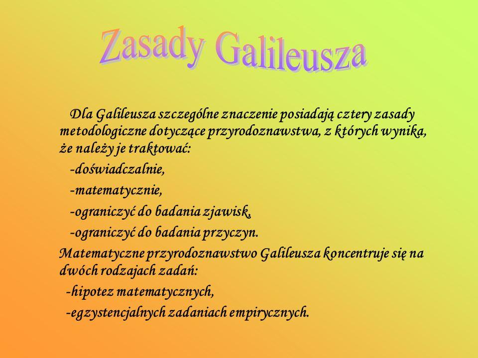 Zasady Galileusza