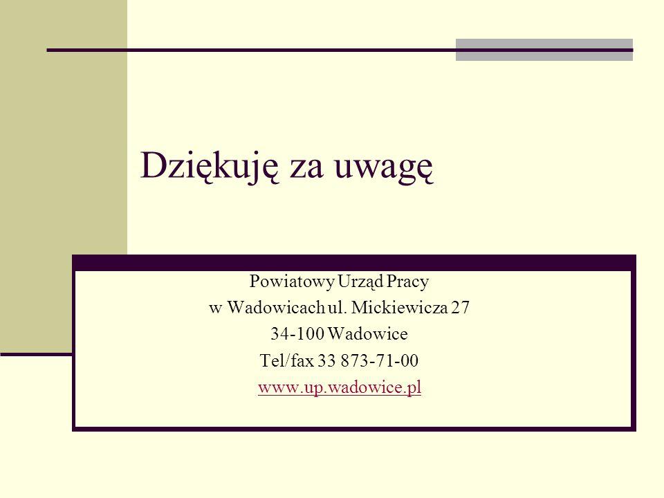 w Wadowicach ul. Mickiewicza 27