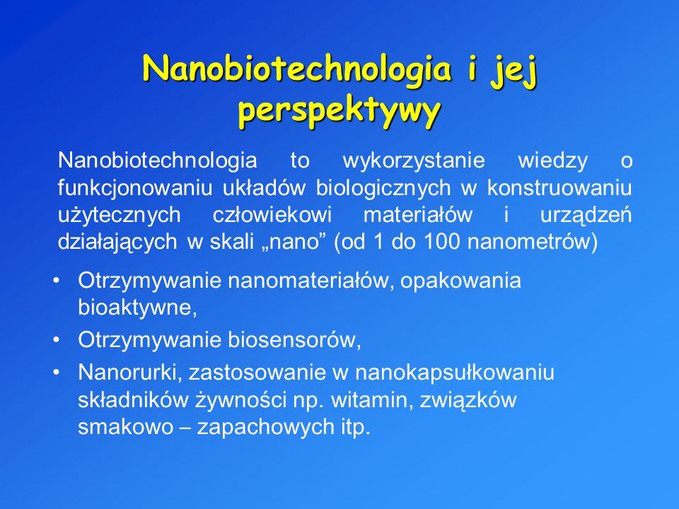 Nanobiotechnologia i jej perspektywy