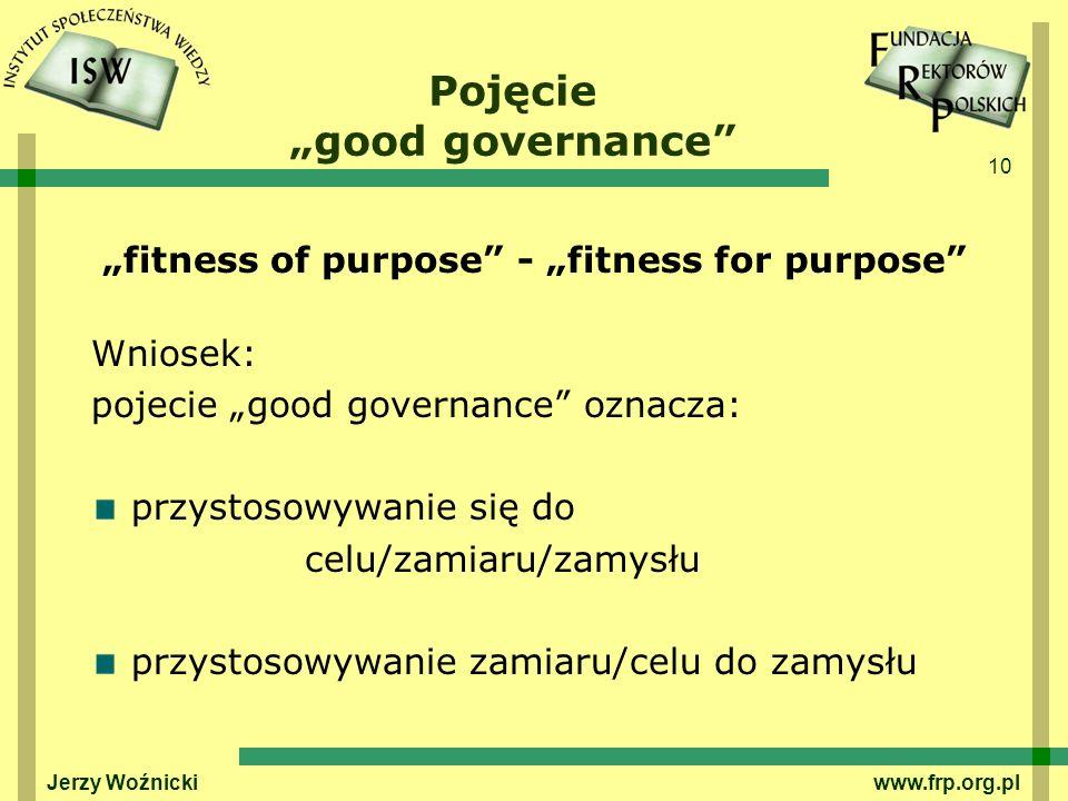 "Pojęcie ""good governance"