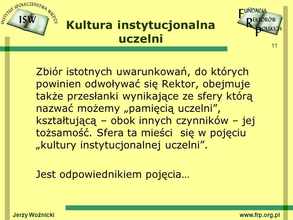 Kultura instytucjonalna uczelni