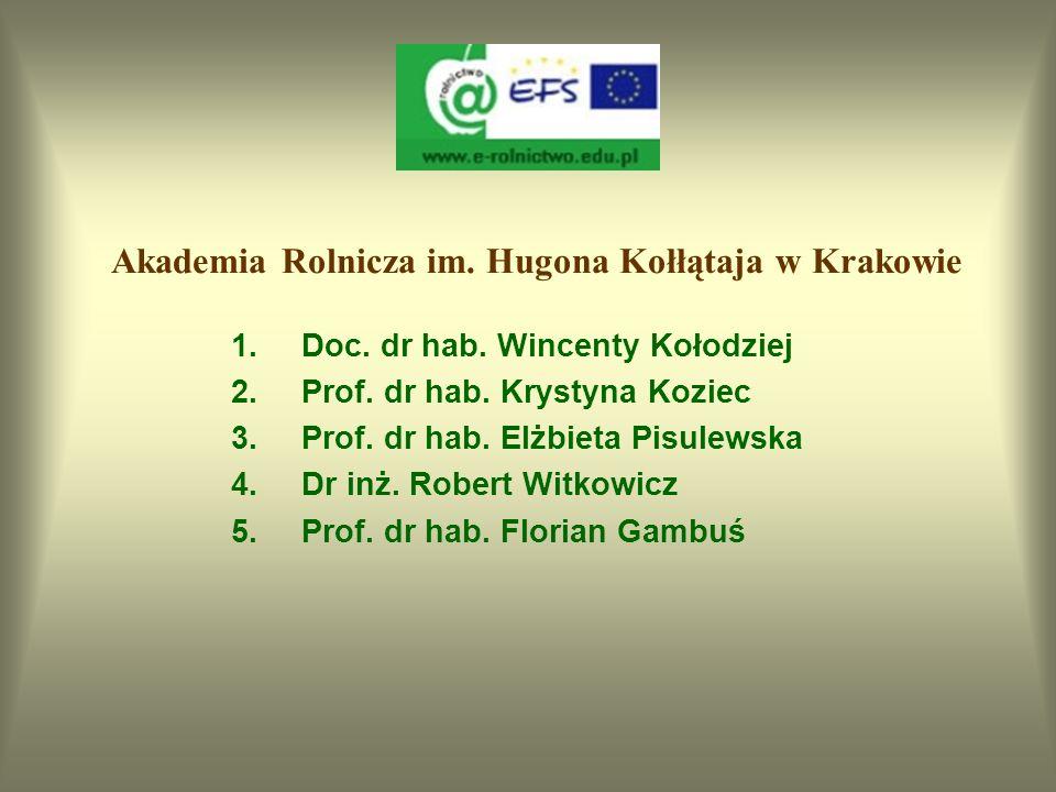 Akademia Rolnicza im. Hugona Kołłątaja w Krakowie