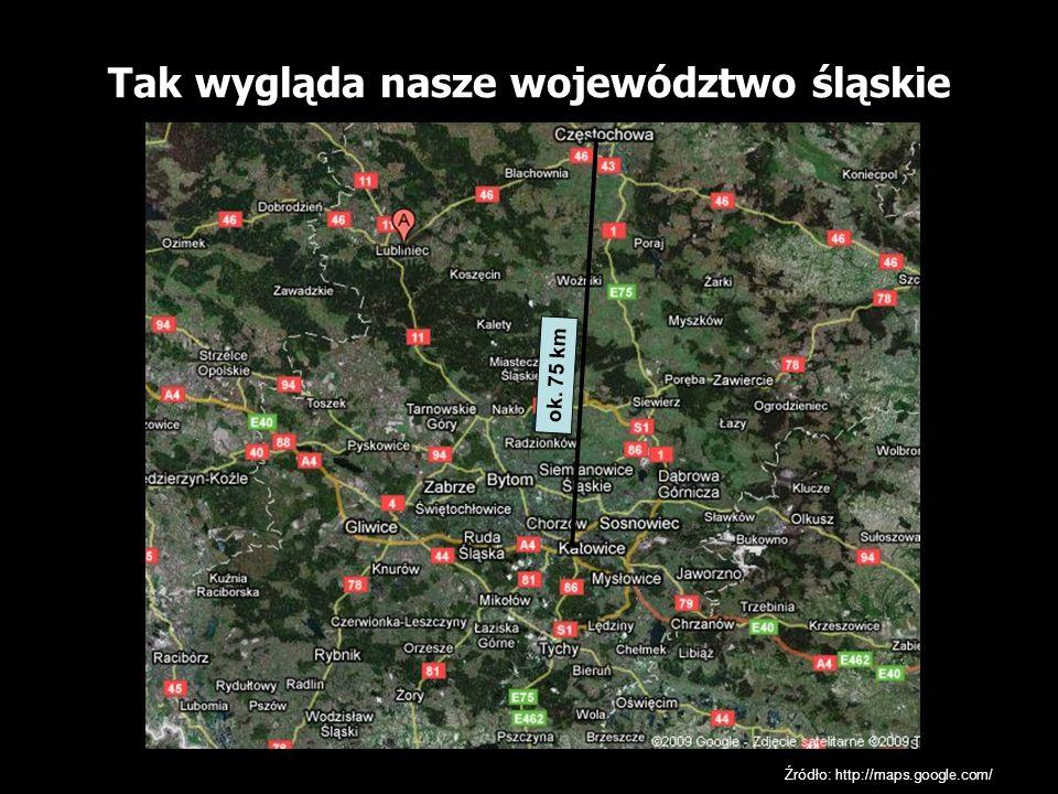 Tak wygląda nasze województwo śląskie