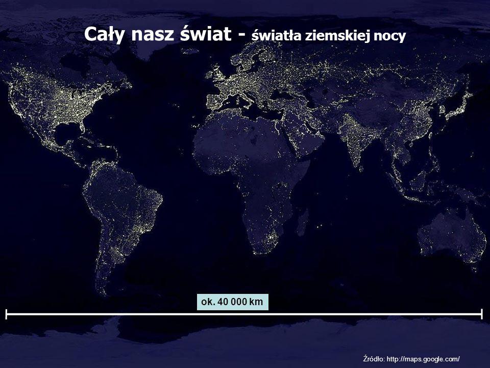 Cały nasz świat - światła ziemskiej nocy