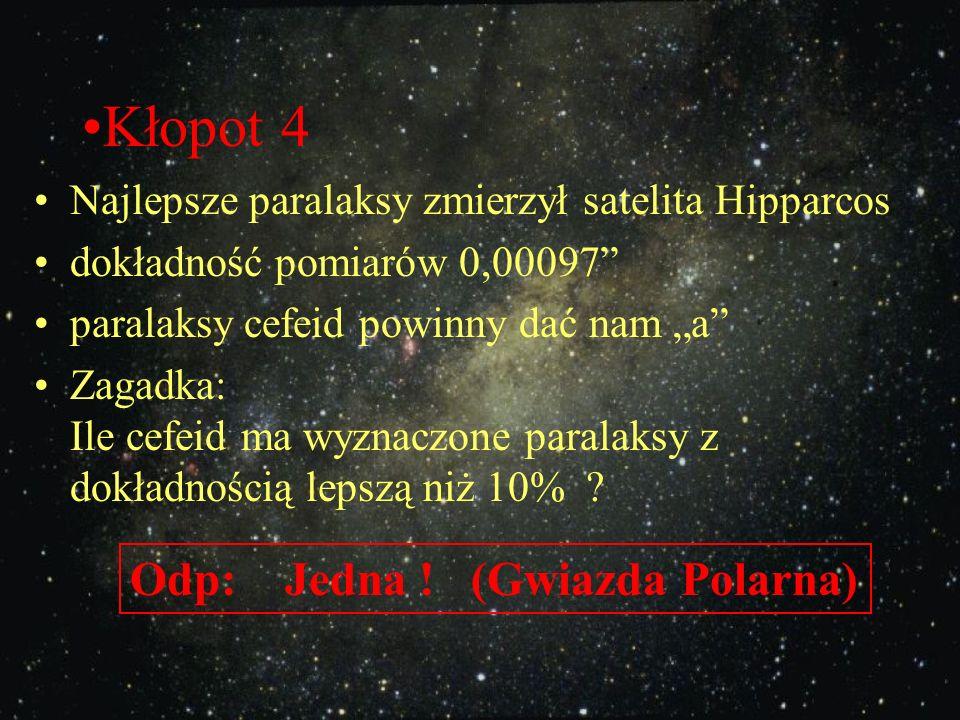 Kłopot 4 Odp: Jedna ! (Gwiazda Polarna)