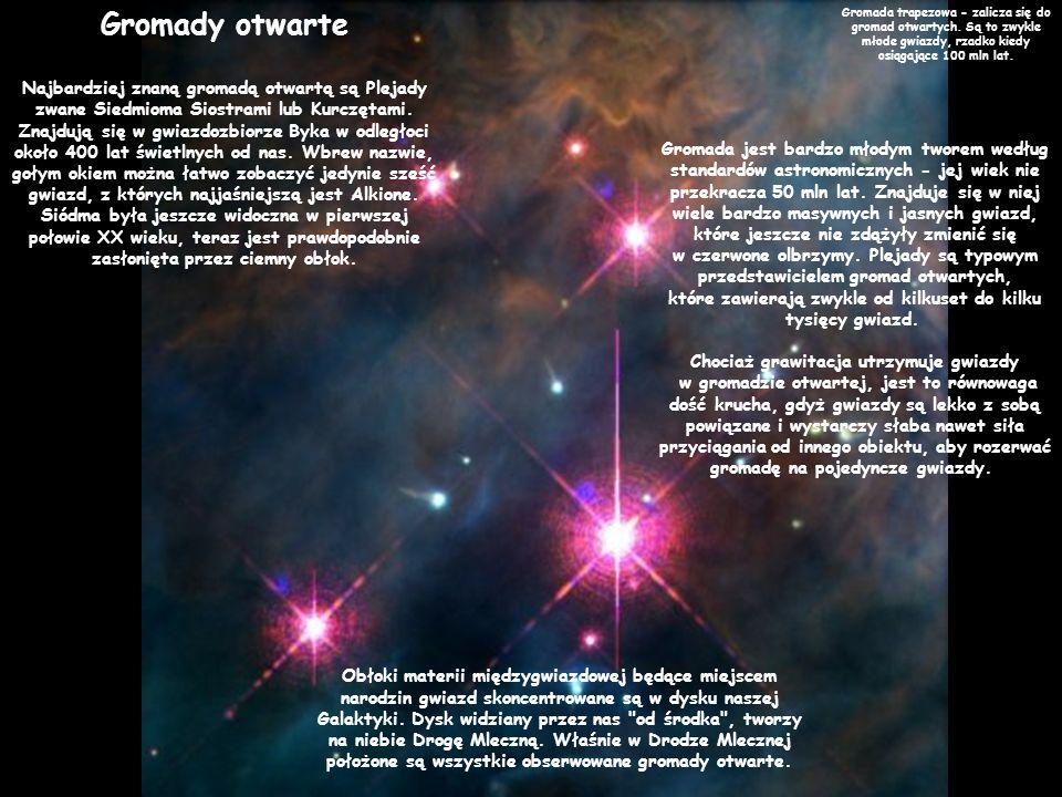 Chociaż grawitacja utrzymuje gwiazdy