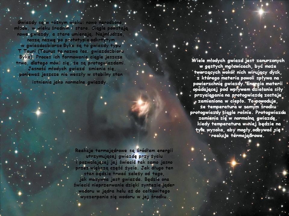 w gwiazdozbiorze Byka są to gwiazdy typu