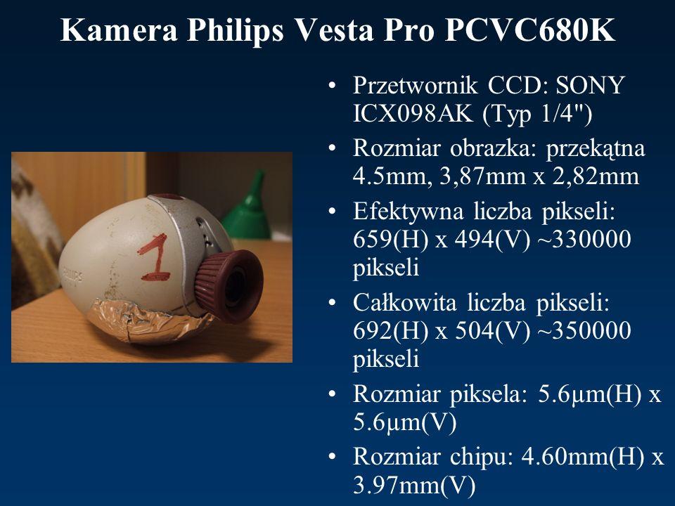 Kamera Philips Vesta Pro PCVC680K