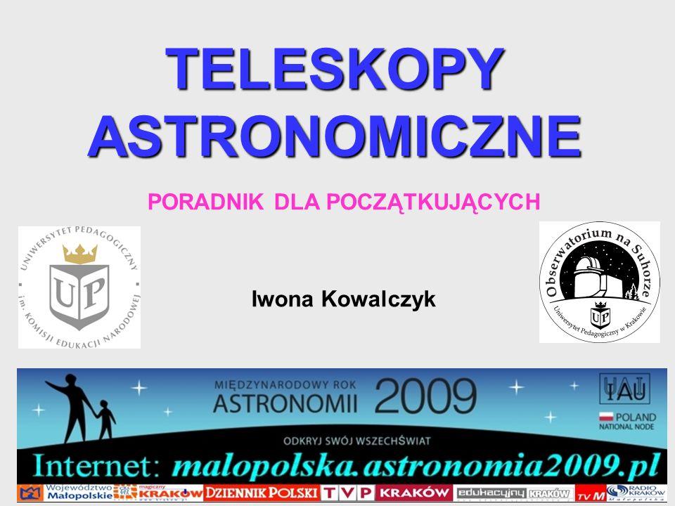 TELESKOPY ASTRONOMICZNE
