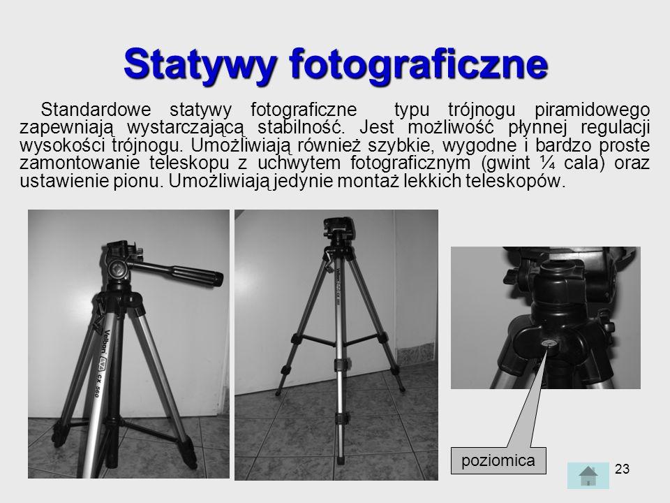 Statywy fotograficzne