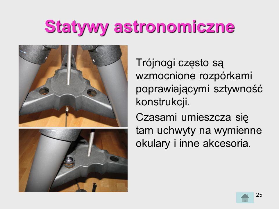Statywy astronomiczne