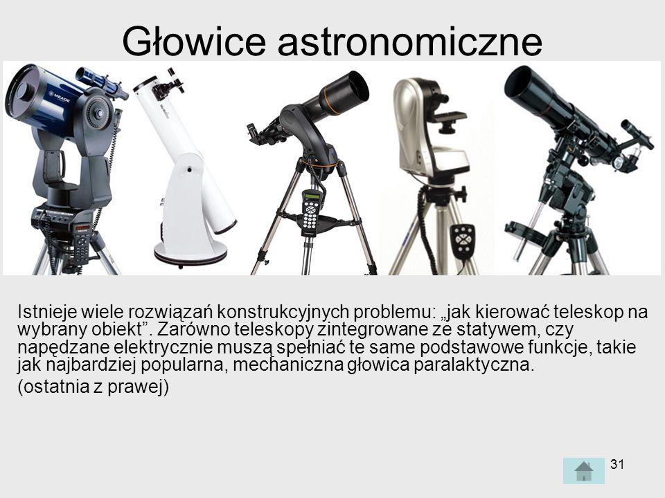 Głowice astronomiczne
