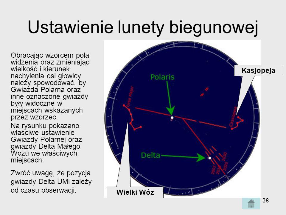 Ustawienie lunety biegunowej