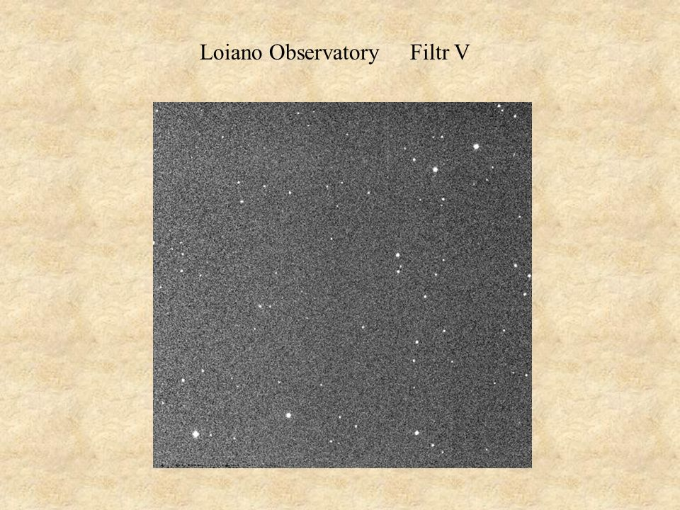 Loiano Observatory Filtr V