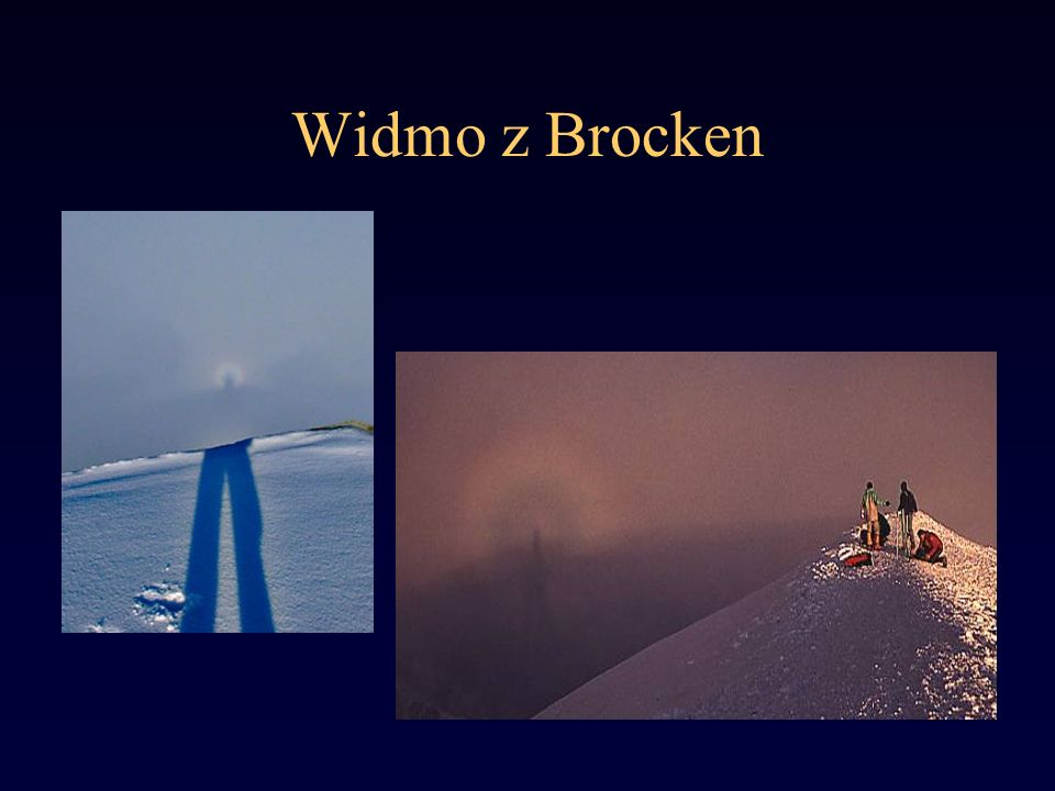 Widmo z Brocken