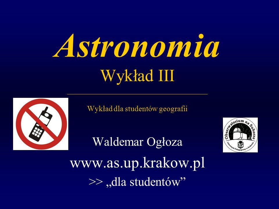 """Waldemar Ogłoza www.as.up.krakow.pl >> """"dla studentów"""