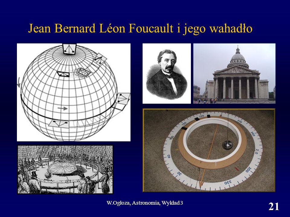 Jean Bernard Léon Foucault i jego wahadło