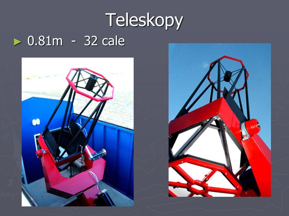 Teleskopy 0.81m - 32 cale