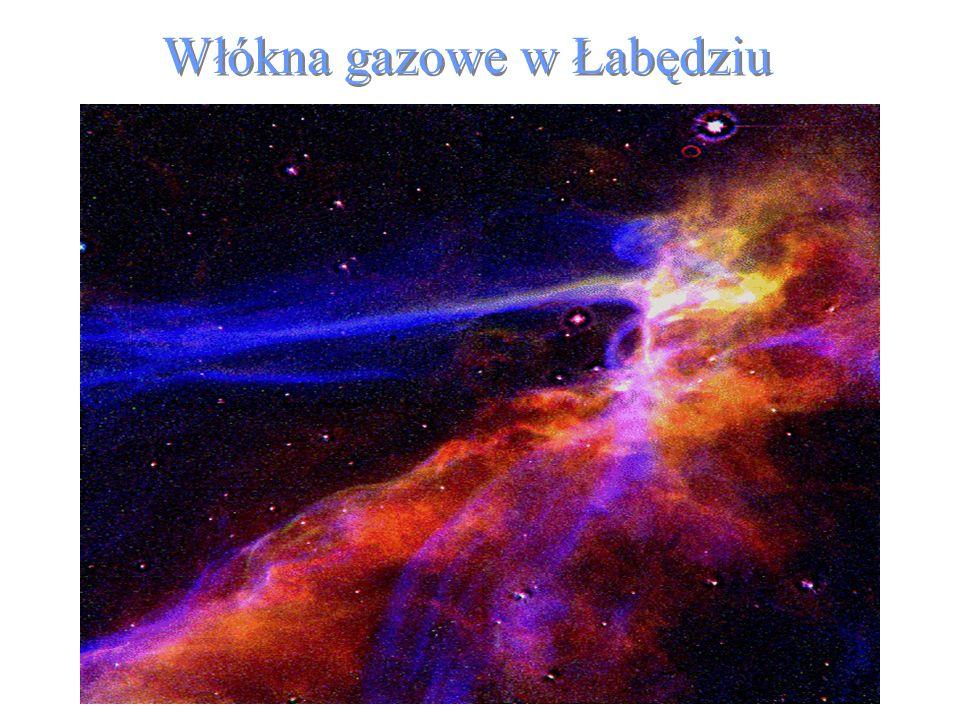 Włókna gazowe w Łabędziu