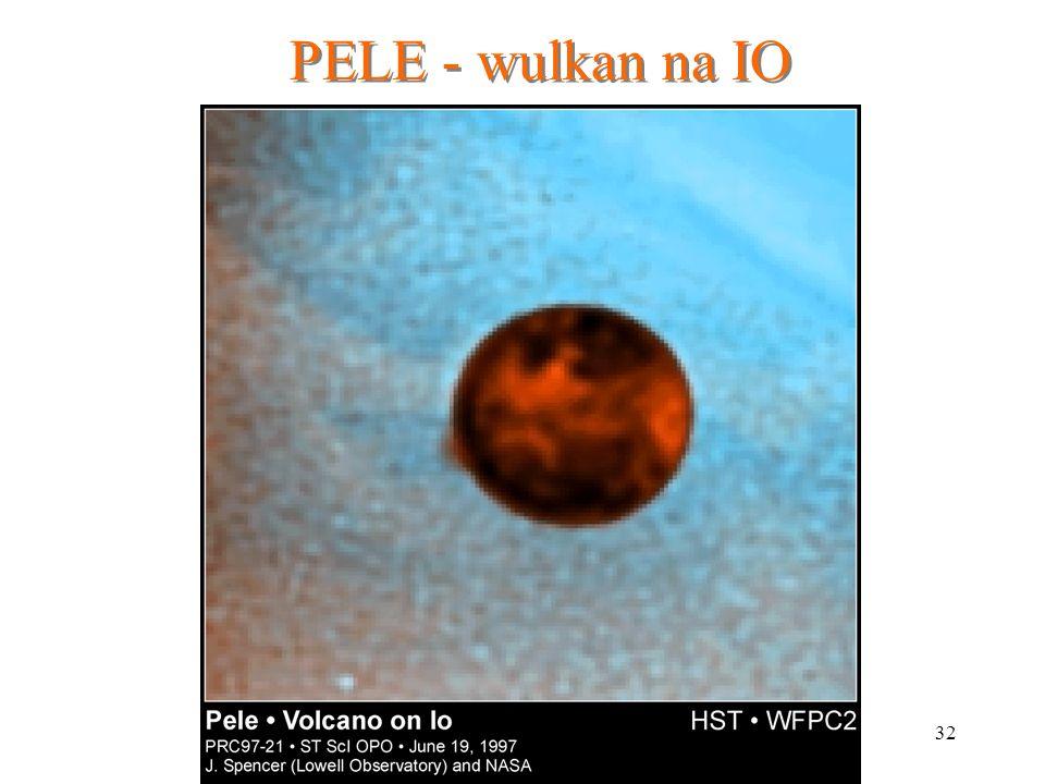 PELE - wulkan na IO
