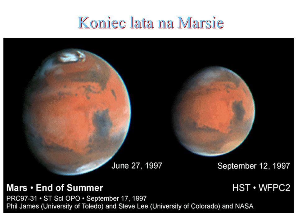 Koniec lata na Marsie