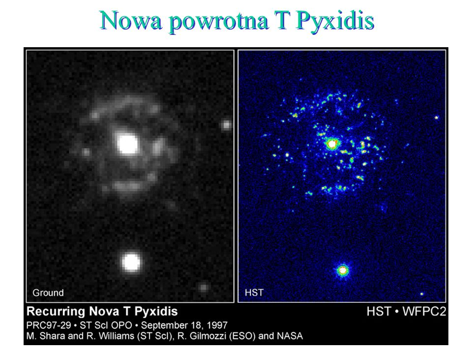 Nowa powrotna T Pyxidis