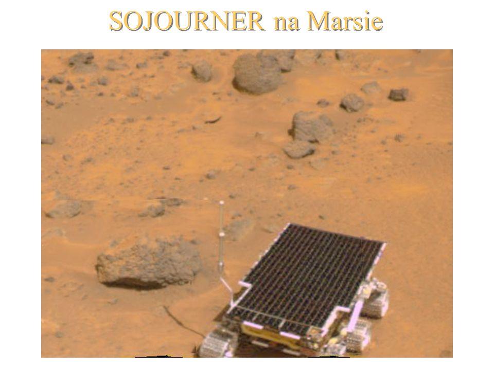 SOJOURNER na Marsie