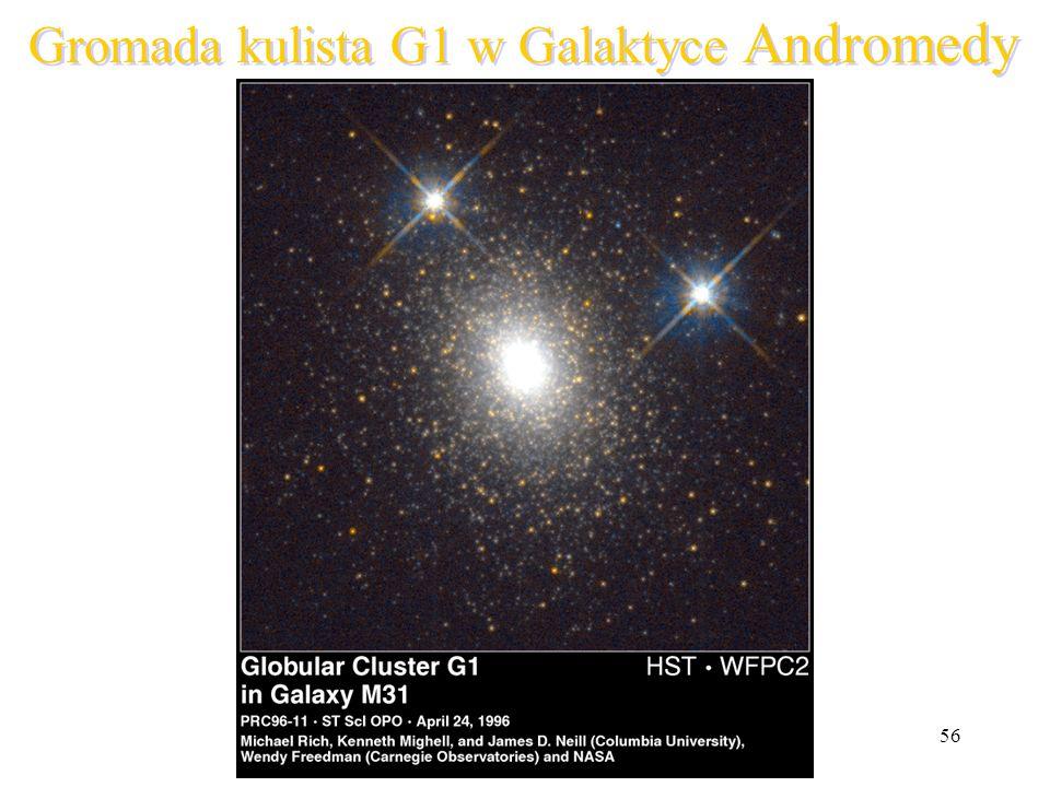 Gromada kulista G1 w Galaktyce Andromedy