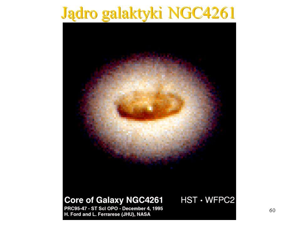Jądro galaktyki NGC4261