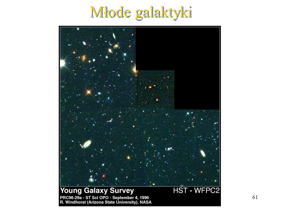 Młode galaktyki