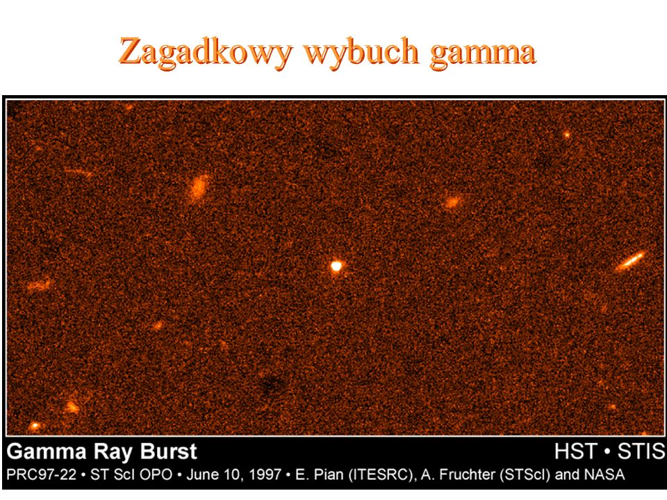 Zagadkowy wybuch gamma