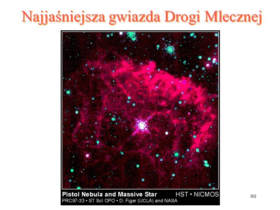 Najjaśniejsza gwiazda Drogi Mlecznej