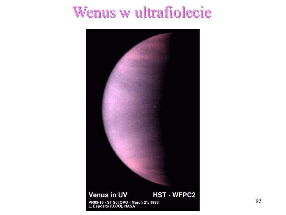Wenus w ultrafiolecie