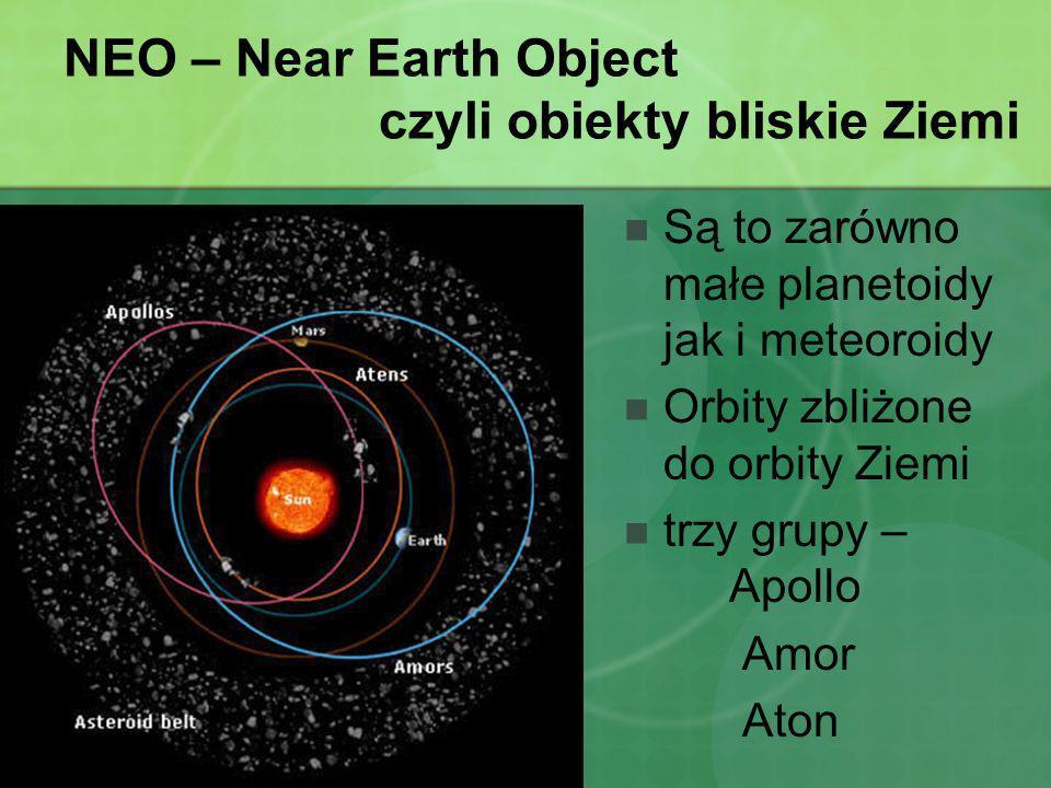 NEO – Near Earth Object czyli obiekty bliskie Ziemi