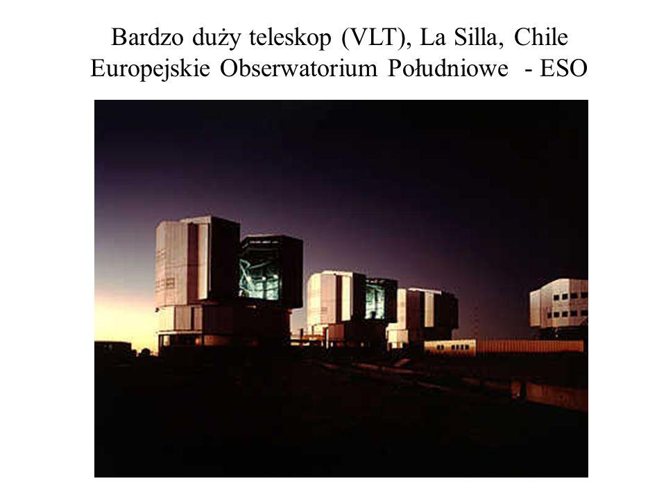 Bardzo duży teleskop (VLT), La Silla, Chile