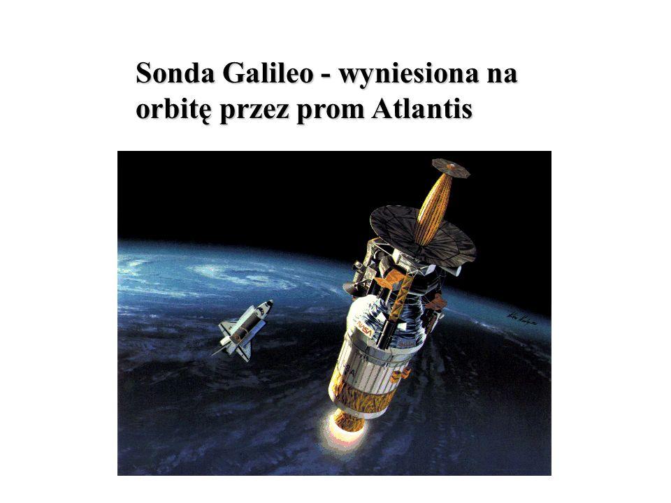Sonda Galileo - wyniesiona na