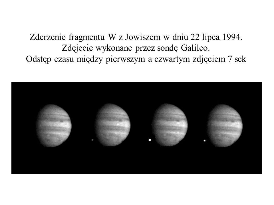 Zderzenie fragmentu W z Jowiszem w dniu 22 lipca 1994.