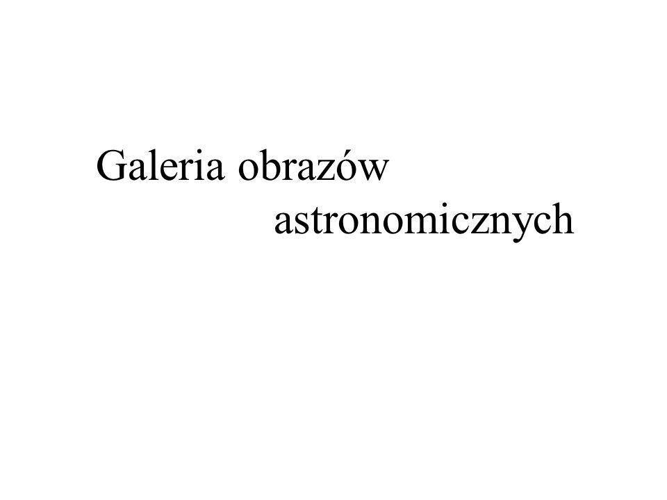 Galeria obrazów astronomicznych