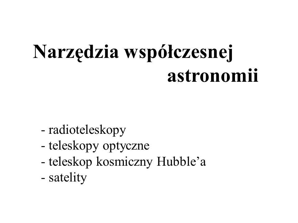 Narzędzia współczesnej astronomii