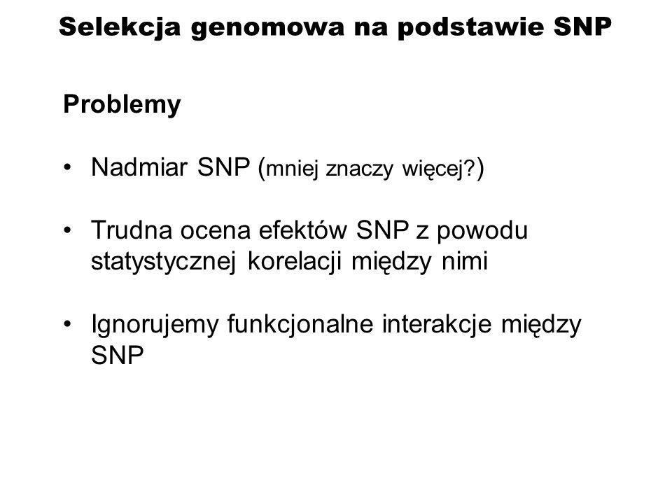 Selekcja genomowa na podstawie SNP