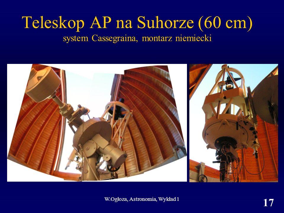 Teleskop AP na Suhorze (60 cm) system Cassegraina, montarz niemiecki