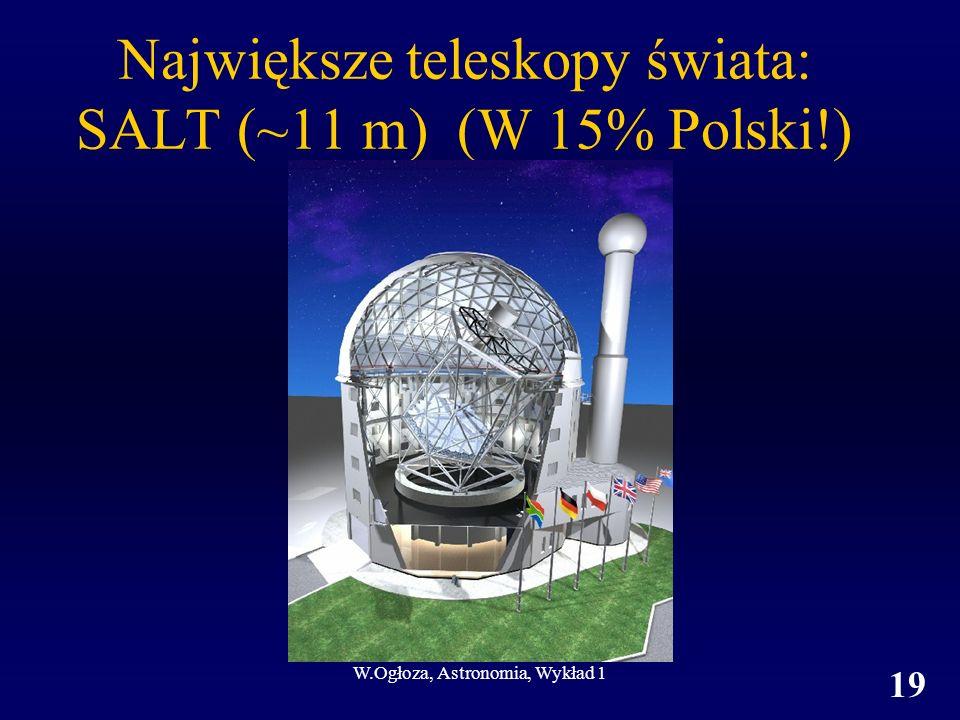 Największe teleskopy świata: SALT (~11 m) (W 15% Polski!)