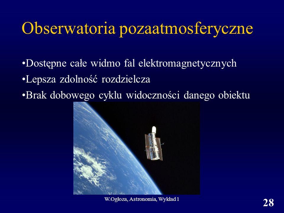 Obserwatoria pozaatmosferyczne