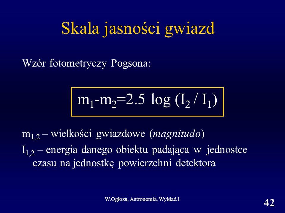 W.Ogłoza, Astronomia, Wykład 1